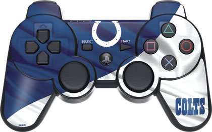 Nfl - Indianapolis Colts - Indianapolis Colts - Sony Ps3 Dual Shock Wireless Controller - Skinit Skin