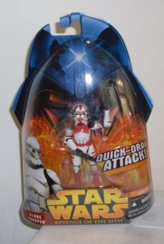 STAR WARS EPISODE 3 ROTS: CLONE #6 RED SHOCK TROOPER