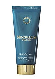 Mineralium Matte & Clear Dead Sea Purifying Mud Masque For Normal and Oily Skin 100ml