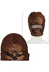 Chewbacca Roll-down Beanie Hat ~ Adult Size