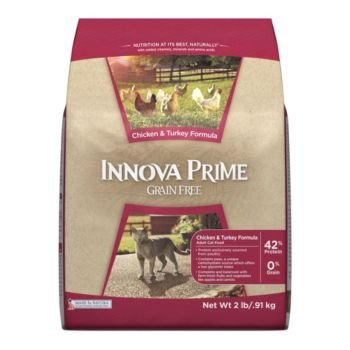 Image of Innova Prime GF Chicken/Turkey Dry Cat Food 12lb