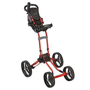 Bag Boy Quad Push Cart (Red)