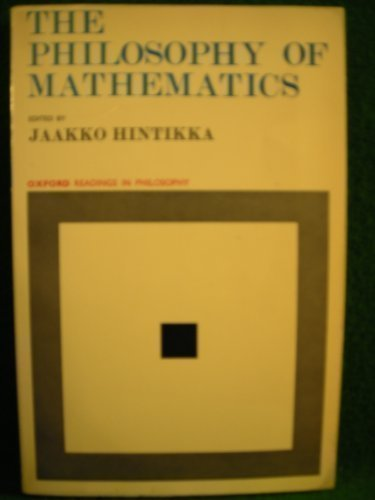 Philosophy of Mathematics (Readings in Philosophy)