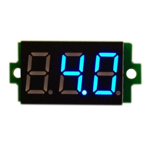 """Drok 0.36"""" Dc Digital Display Car Battery Voltmeter Led Panel Volt Meter 0-20..."""