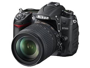 Nikon D7000 - Cámara réflex digital de 16.2 Mp (estabilizador óptico), color negro - kit con objetivo AF-S DX 18-105mm VR