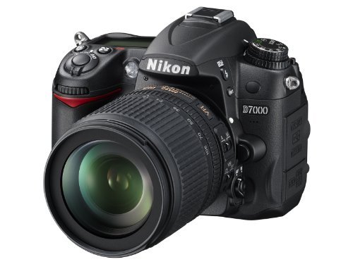 Nikon D7000 Digital SLR Camera with 18-105mm VR Lens Kit (16.2MP) 3 inch LCD