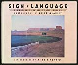 img - for Sign Language: Contemporary Southwest Native America (New Images Book) book / textbook / text book