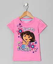 "Dora the Explorer ""Sweet Dora"" Glitter Shirt - (2T)"
