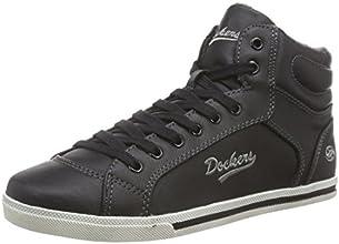 Dockers 27ch323-620100, Sneakers Basses Femme - Noir (schwarz 100), 36 EU