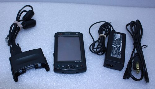 Symbol Mc5040 Pocket Pc W/ Cable Cup Adapter Wireless Barcode Scanner Handheld