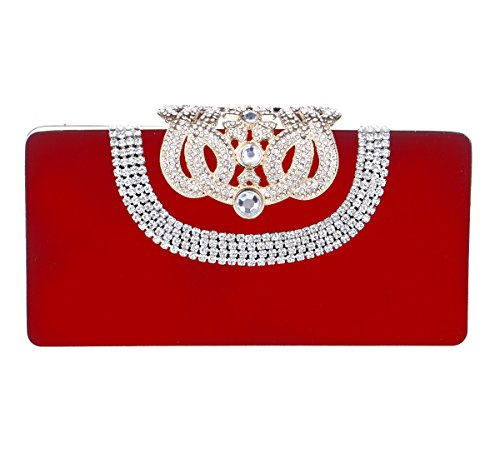 tina-womens-rhinestone-diamond-studded-crown-evening-prom-wedding-clutch-purse-red