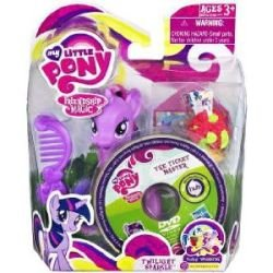 My Little Pony G3: Twilight Sparkle Pony Wedding Action Figure with DVD