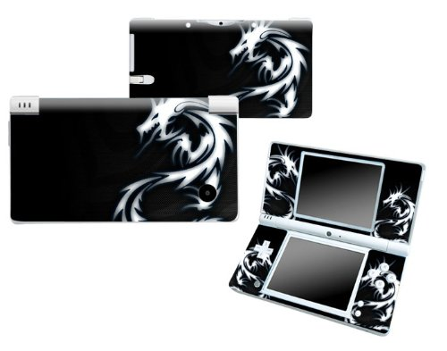Bundle Monster Nintendo Ndsi Dsi Nds Ds i Vinyl Game Skin Case Art Decal Cover Sticker Protector Accessories - Blue Dragon