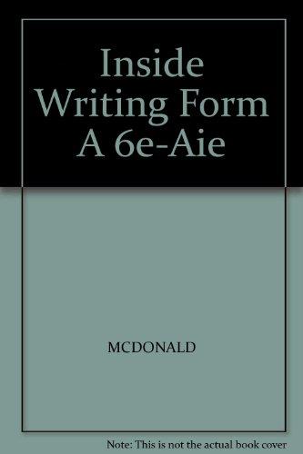 Inside Writing Form A 6e-Aie