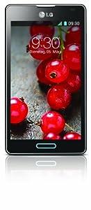 LG P710 Optimus L7 II Smartphone (10,9 cm (4,3 Zoll) Touchscreen, 1GHz, Dual-Core, 4GB, 768MB RAM, 8-Megapixel-Kamera, Android 4.1) metallisch-schwarz
