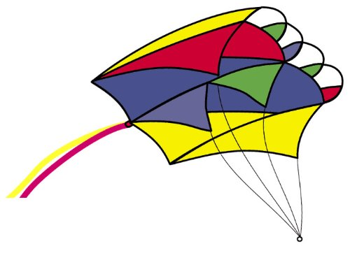 Parafoil 2 Rainbow Kite (13
