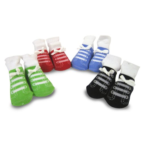 Baby Essentials Socks, Boys, 4 Pack
