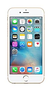 Apple iPhone 6s Smartphone débloqué 4G (Ecran : 4,7 pouces - 64 Go - iOS 9) Or