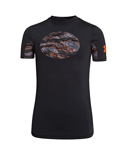 Under Armour Boys 39 Ua Gameday Armour Chest Short Sleeve