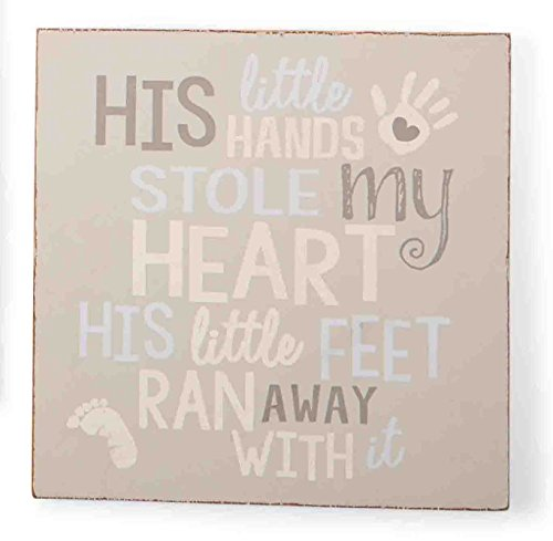 Mud Pie Plaque, Little Hands
