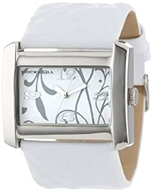 buy Rockwell Time Women'S Vn101 Vanessa White Patent Leather With White Watch