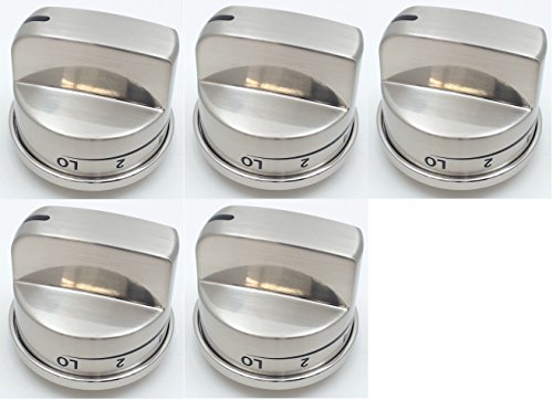 Burner Knob 5 Pack for LG Ranges, AP4447911, PS3534129, EBZ37189611 (Stove Knobs 5 compare prices)