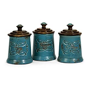 IMAX 7H in. Provincial Canisters - Set of 3