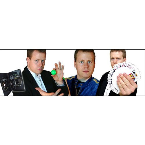 Sleight of Hand with Cards, with Eddy Ray, 4 DVD Set From Magic Makers