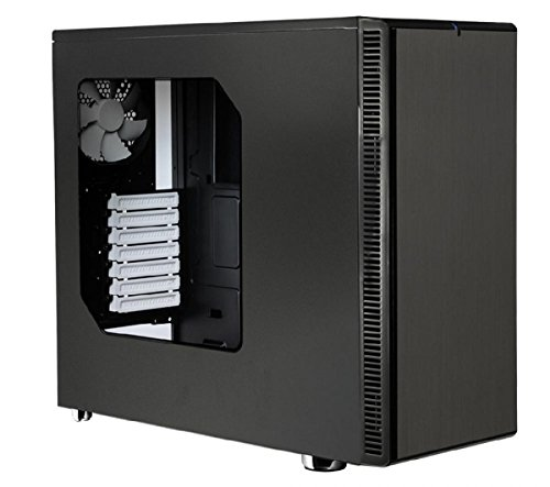Fractal Design, Define R4 Black Pearl W Window (Catalog Category: Cases & Power Supplies / Microatx Pc Cases)