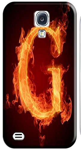 Phone Accessories Lovely 26 Fire Letter Character Cute Design Special For Samsung Galaxy S4 I9500 No.7