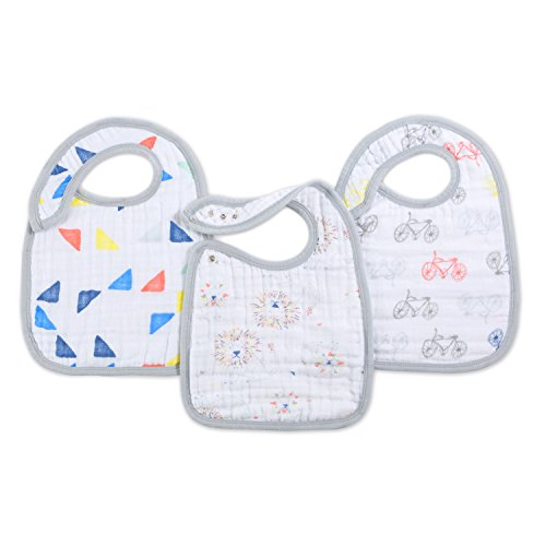 aden + anais Snap Bibs, leader of the pack (Bibs Pack compare prices)
