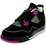 Nike Jordan Kids Girls Jordan 4 Retro Ps Basketball Shoe