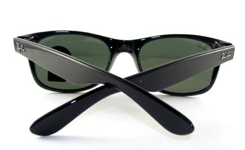 Ray-Ban New Wayfarer- RB2132 Sunglasses BlackG-15 XLT