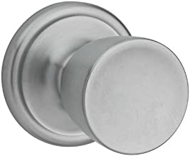 Kwikset Abbey Entry Knob featuring SmartKey® in Satin Chrome