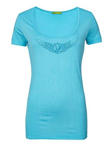 Versace Jeans Couture Top (F-03-To-34152) - 42(DE) / 48(IT) / XL(EU) - blau