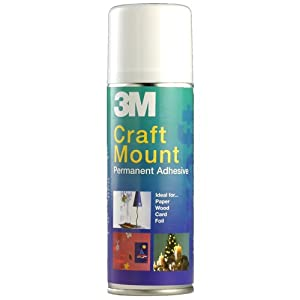 3M CraftMount Spray Adhesive - Permanent - 200ml