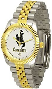 Wyoming Cowboys The Executive Mens Watch by SunTime