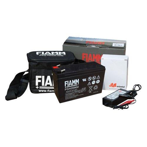 (FIAMM) フィッシング 電動リール用 バッテリー&充電器セット
