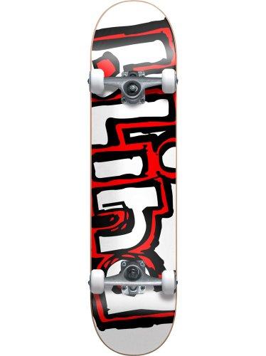 Blind Matte Og Logo Skateboard Complete White/Red Sz 7.7