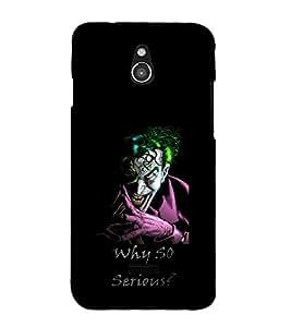 printtech Joker Why So Serious Back Case Cover for Infocus M2