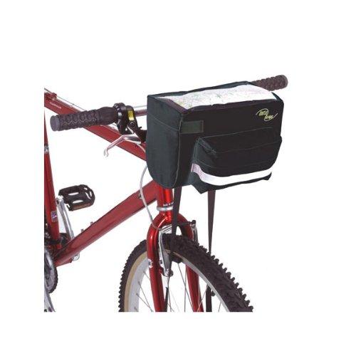 Inertia Designs Navigator Handlebar Bag-Black