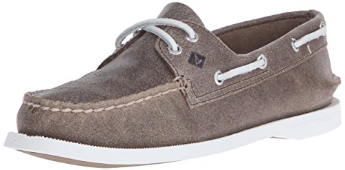 Sperry Top-Sider Women's A/O 2-Eye Boat Shoe, Brown, 8 M US