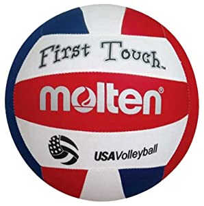 Molten First Touch Official USA Youth Volleyball Hand: 2.5 ounces