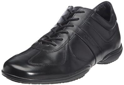 Geox UOMO CITY U2269G00043C9999, Baskets mode homme - Noir (Noir), 43.5 EU