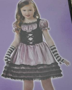 Totally Ghoul Wicked Little Bo Beep Halloween Costume Little Bo Peep NWT Small
