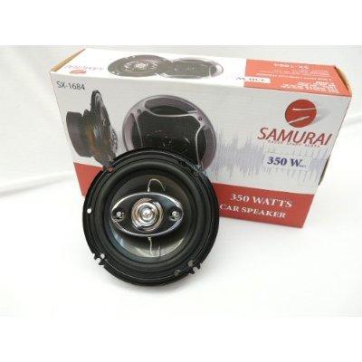 "The New Sx-1684 Samurai 6 1/2"" Speaker 350W 4-Way Impp Cone Car Speaker"