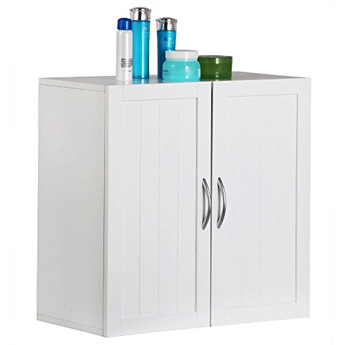 Topeakmart Kitchen/Bathroom/Laundry Wall Mount Cabinet,White,23