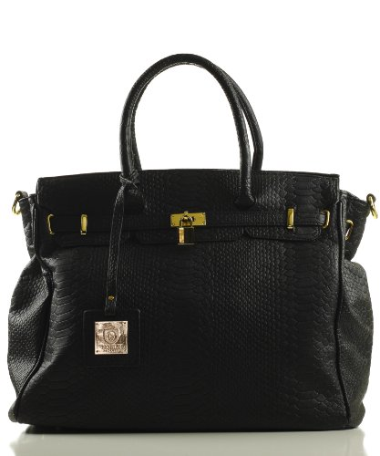 Noble Mount London Office Tote Croc Finish - 5 Colors