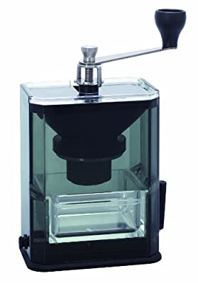 Hario Acrylic Coffee Grinder with Ceramic Burrs from Hario