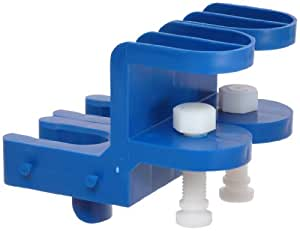 Bel-Art Scienceware 189540001 Polypropylene Pi-Rack Pipettor Holder with 2 Clamp (Pack of 2)